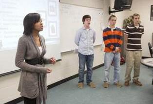 studentspresenting